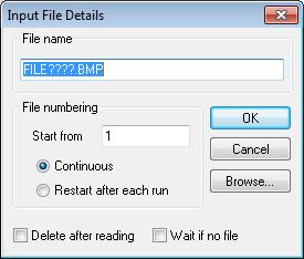 SCAN: input file details dialog