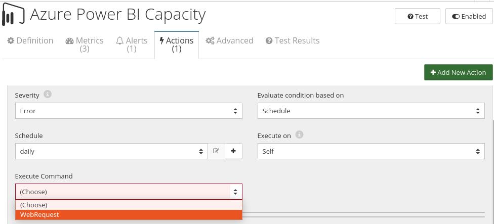 CloudMonix Azure Power BI Embedded Capacity automation