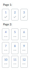 page layout panel