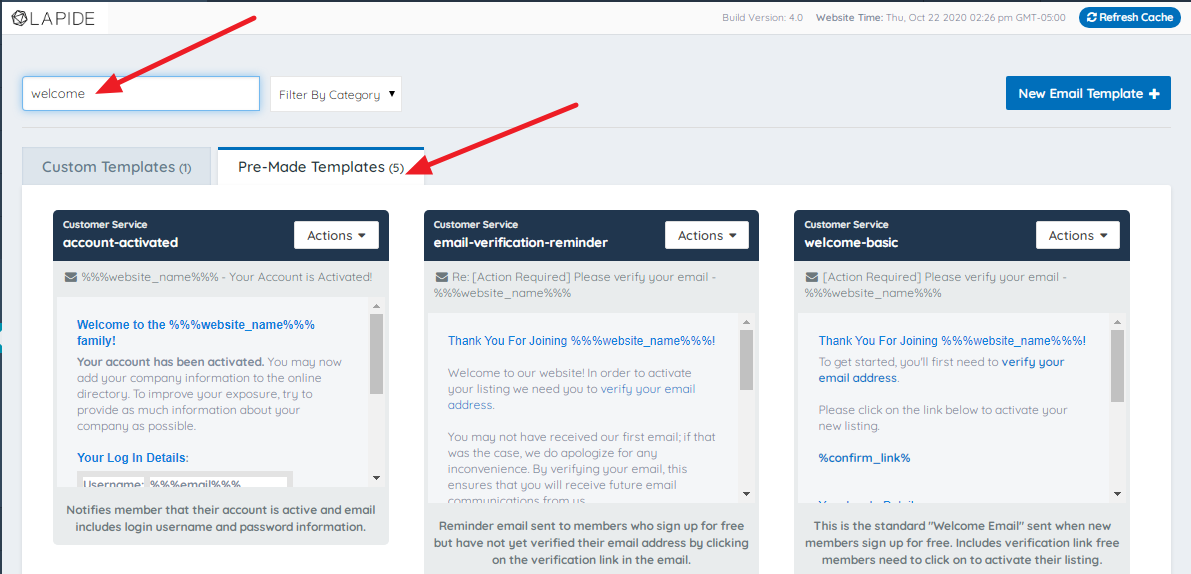 Brilliant Directories How To Edit Email Templates Brilliant Directories Documentation