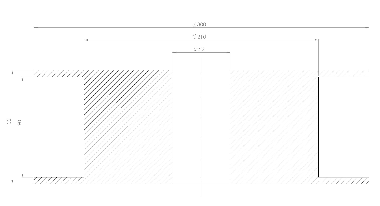 2,2kg spool dimensions