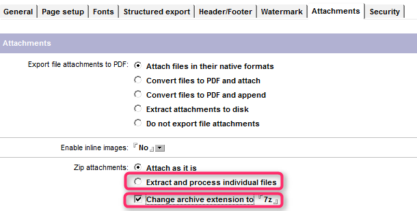 ZIP files can not be detached from PDF - Learning Center