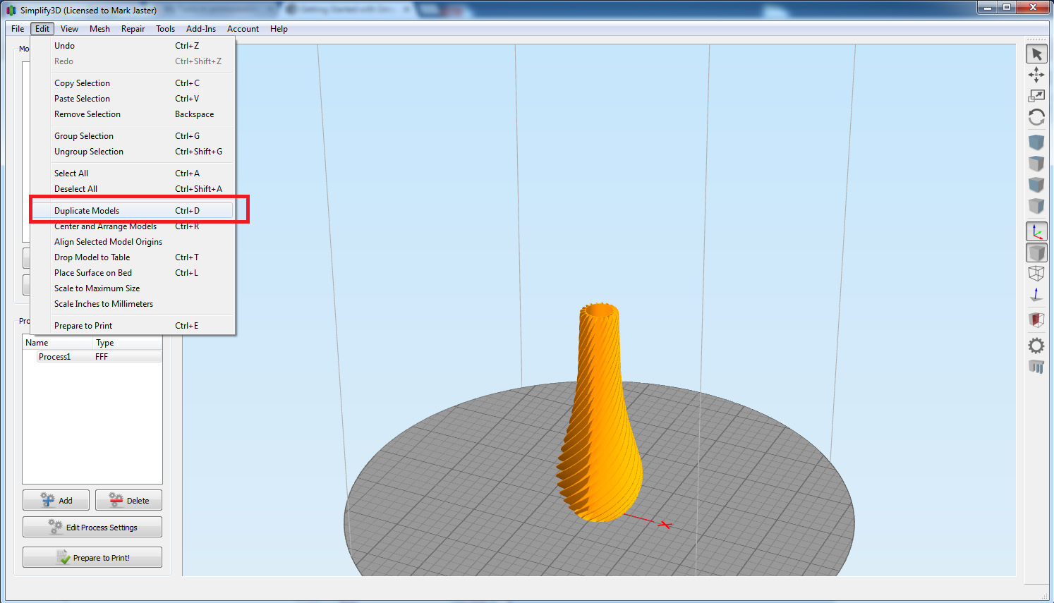 The Basics of Using Simplify 3D : Support Center