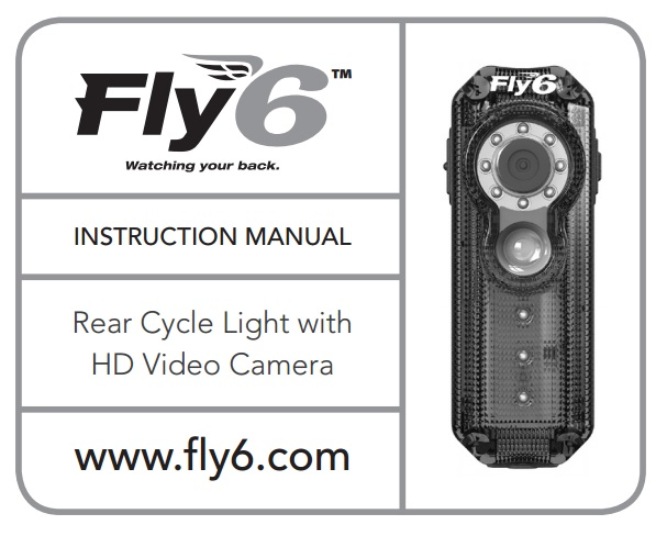 Fly6 Original Instruction Manual PDF Cycliq – Instruction Manual