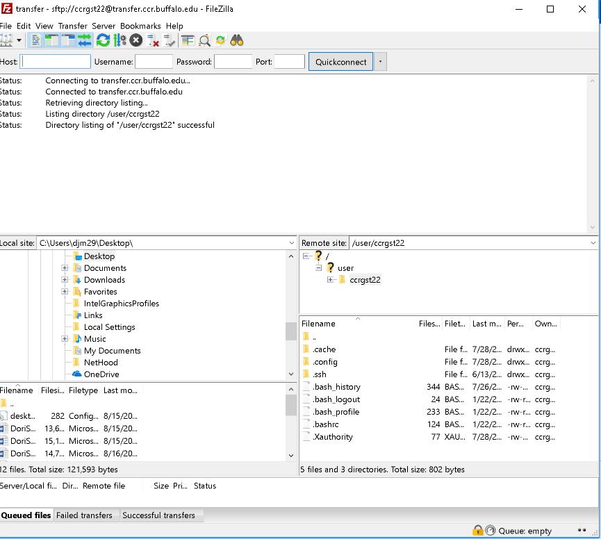 Using SSH keys with Filezilla (Windows) : Center for