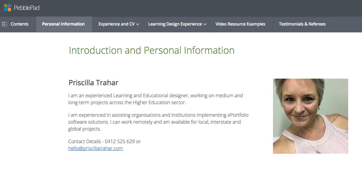 Portfolios Staff And Professional Community