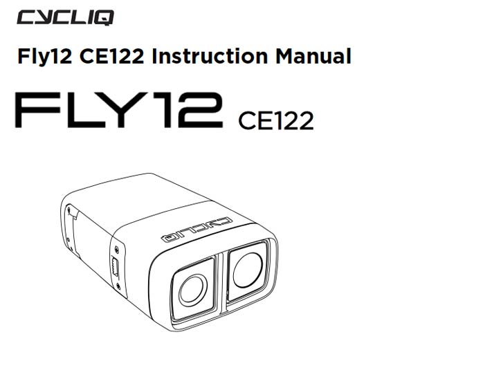 Fly12 CE User Manual : Cycliq