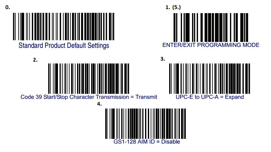 DataLogic QD21XX Barcode Scanner Configuration : Service