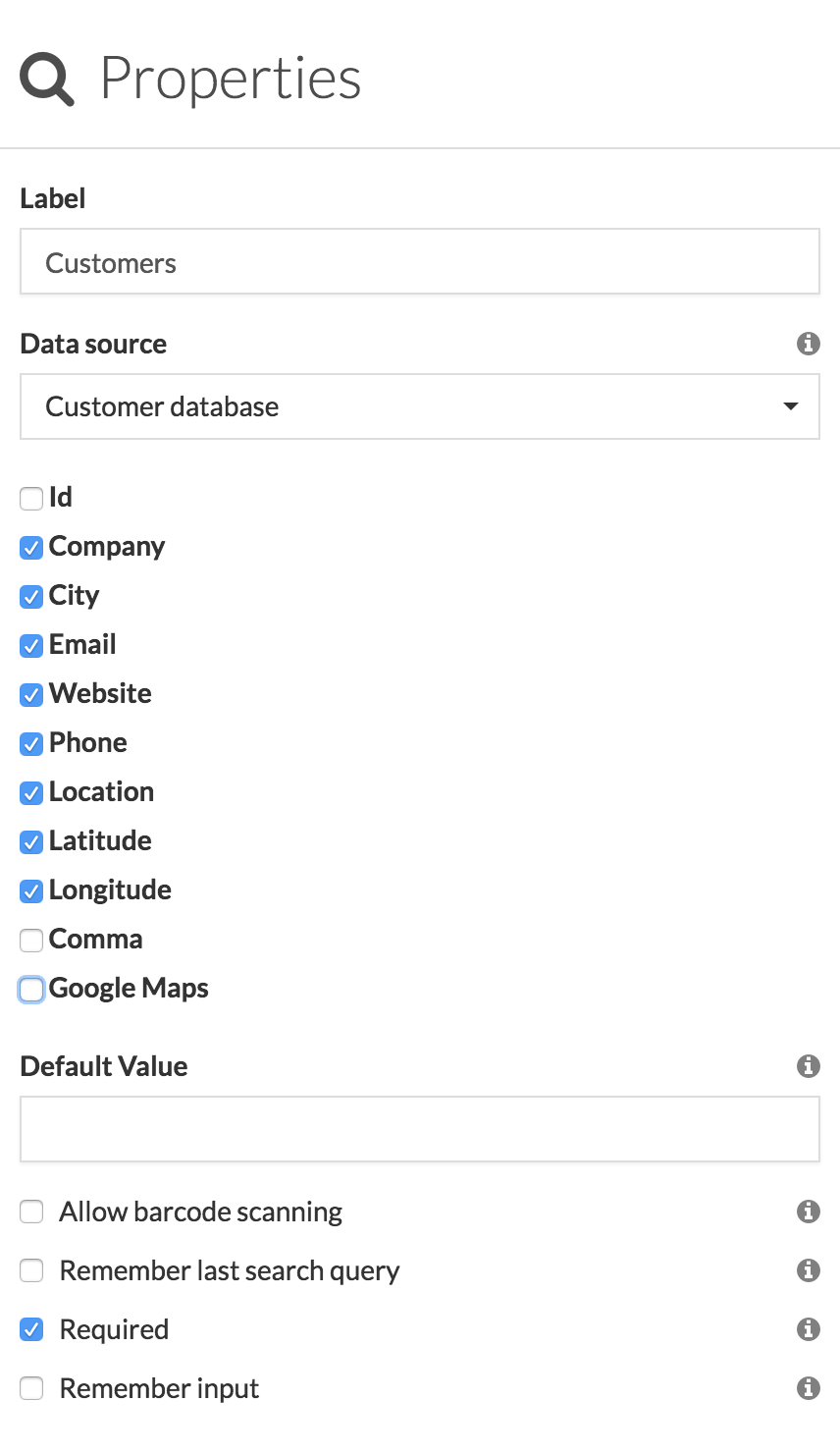 How to import Locations and open them in Google Maps