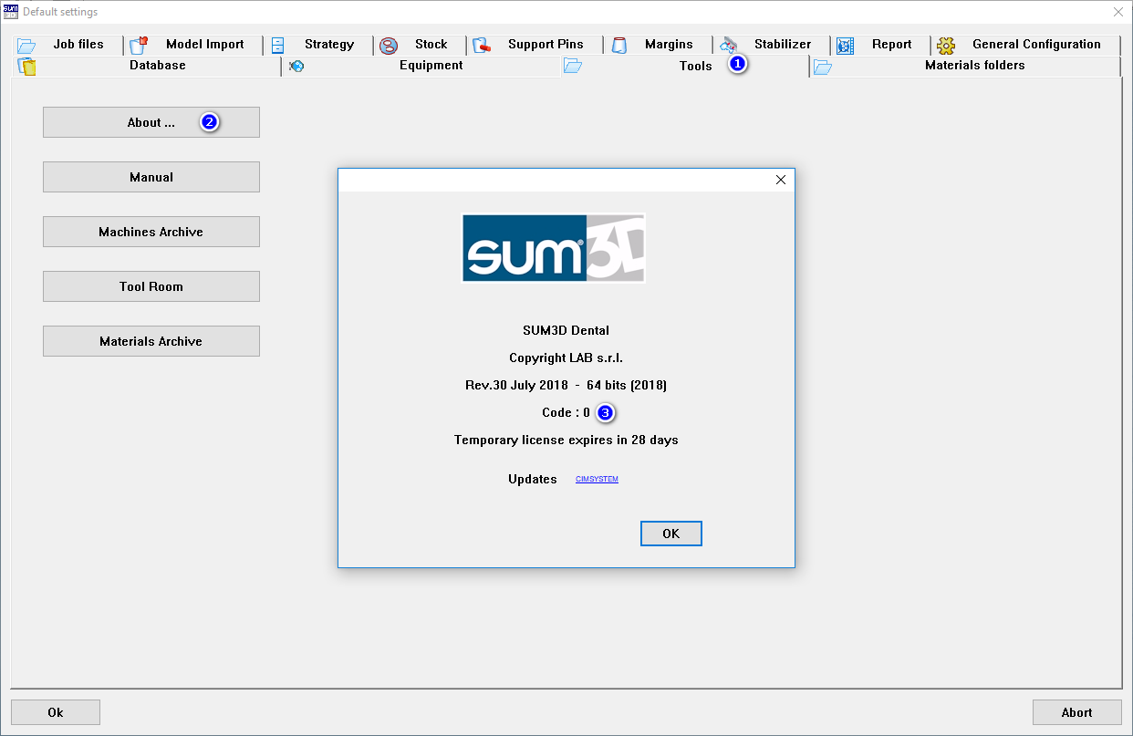 SUM3D - How to find your 4-Digit Dongle Code : CIMsystem USA