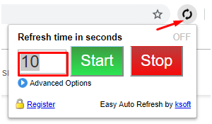 How to install Easy Auto Refresh extension? : Smart Flow Support