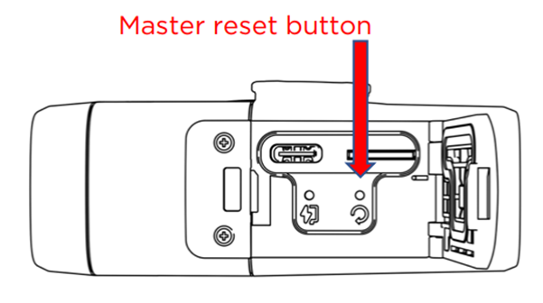 How to perform a master reset on a Fly12 CE : Cycliq