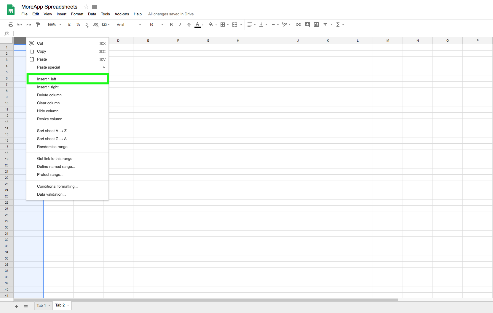 How to Import and Export Data using one Google Spreadsheet