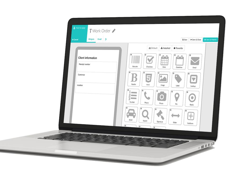 Plataforma MoreApp