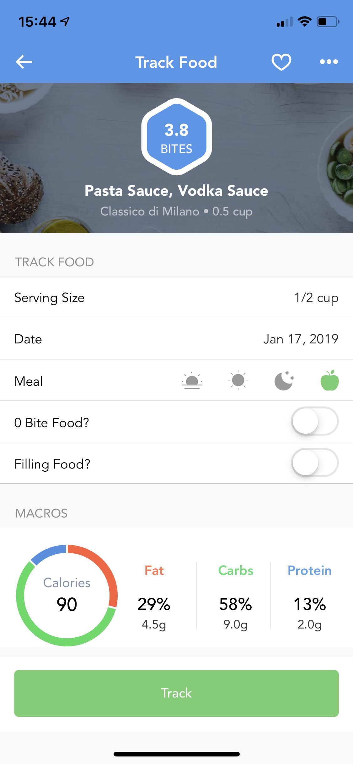 3 6/ Adding Foods: Barcode Scanner : iTrackBites