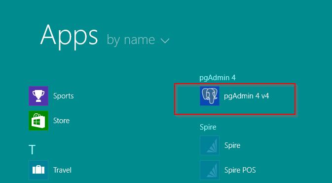 pgAdmin 4 Server Entry (Spire 3 2+) : Spire Systems