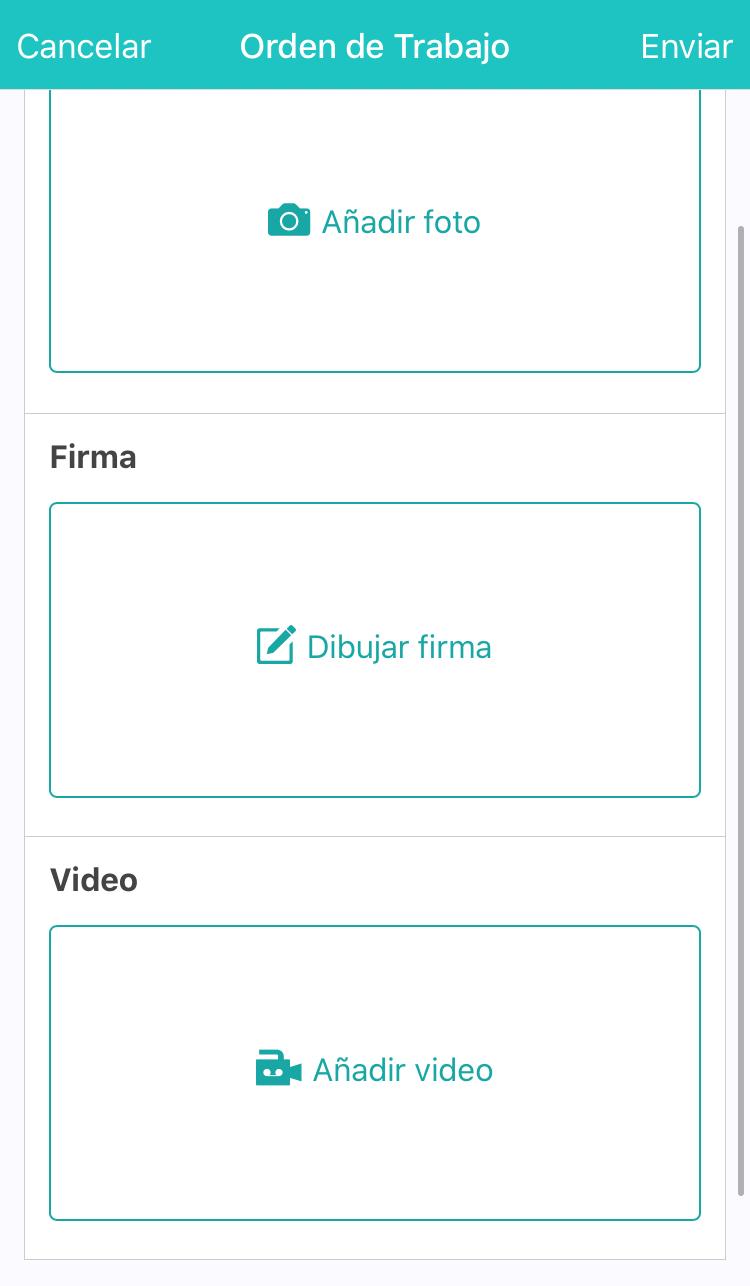 Graba un video en la App