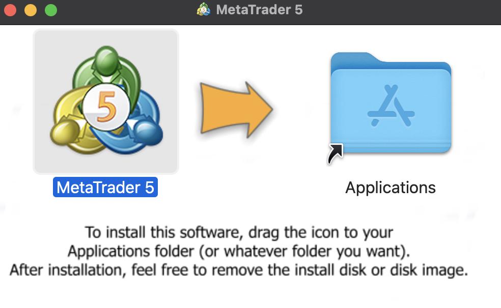Installing Metatrader 5 on your Mac OS