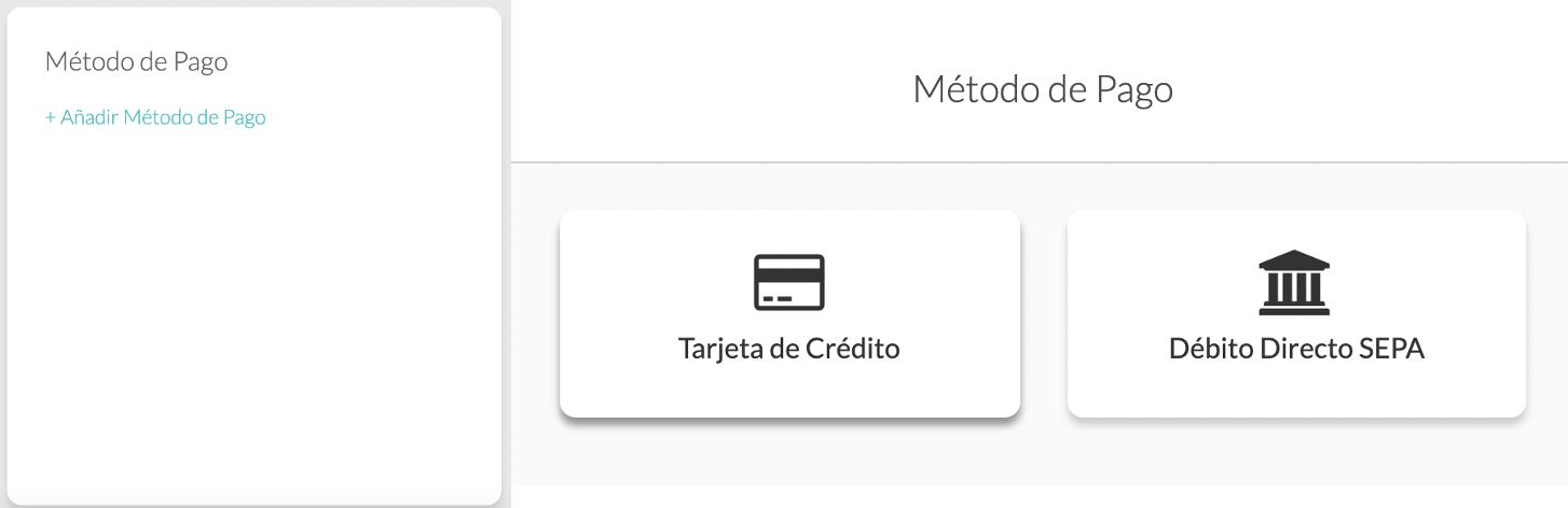 Métodos de pago MoreApp