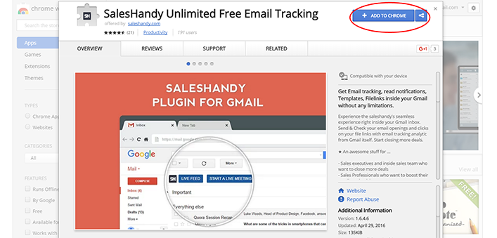 How to install & use the gmail plugin to track emails
