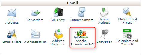 How to configure SpamAssassin in cPanel - Email service ...