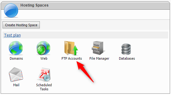 knownhost how to create ftp account root