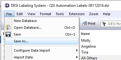 Updating the labels for Desk Phones : QSI Automation HelpDesk