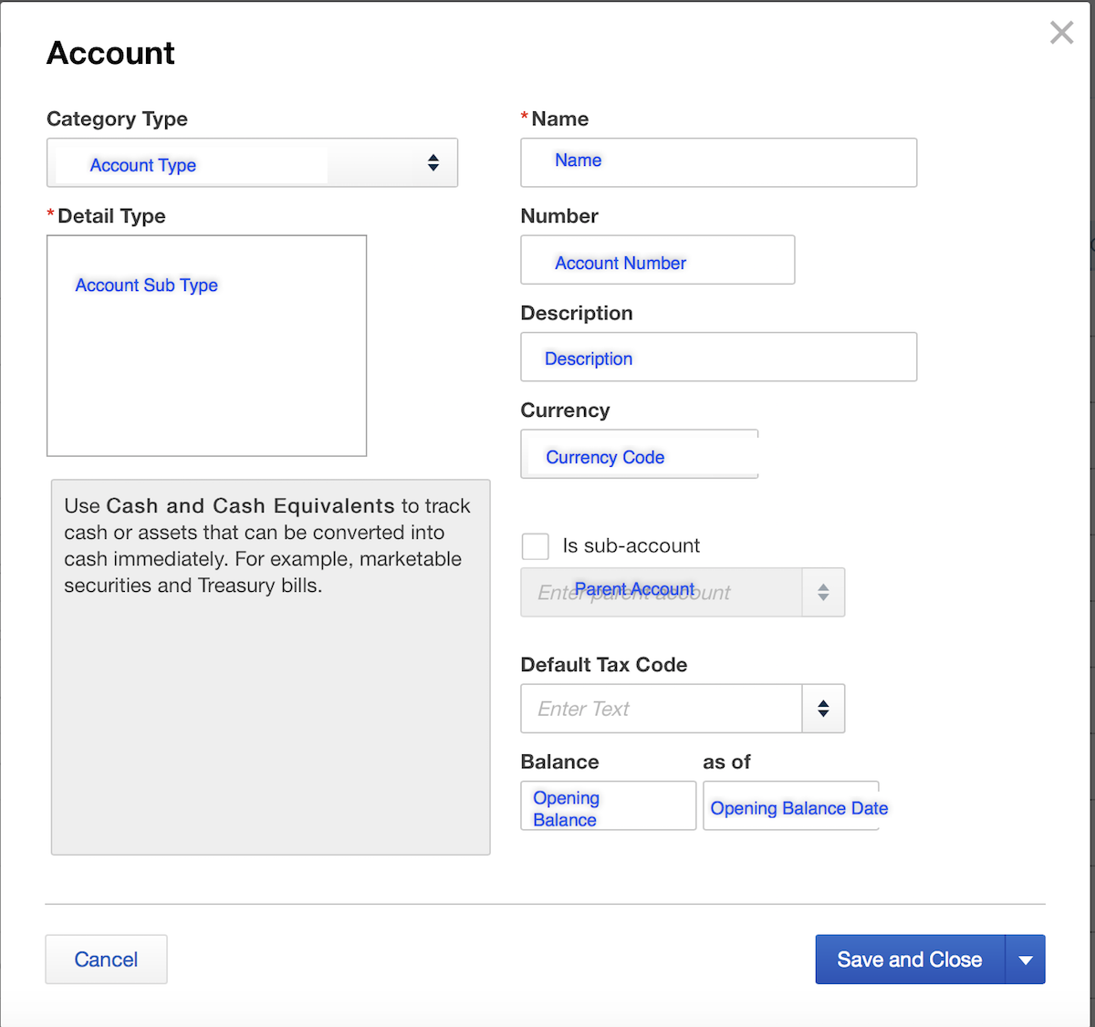 Import Chart of Accounts into QuickBooks Online
