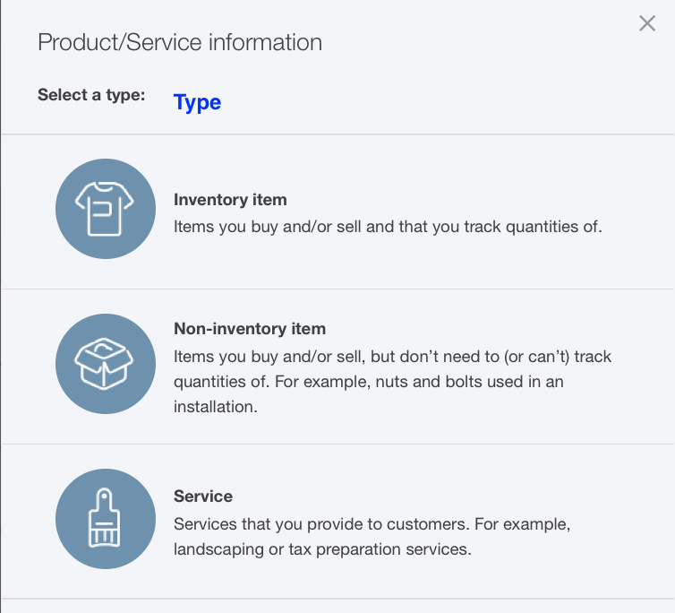 Import Product into QuickBooks Online