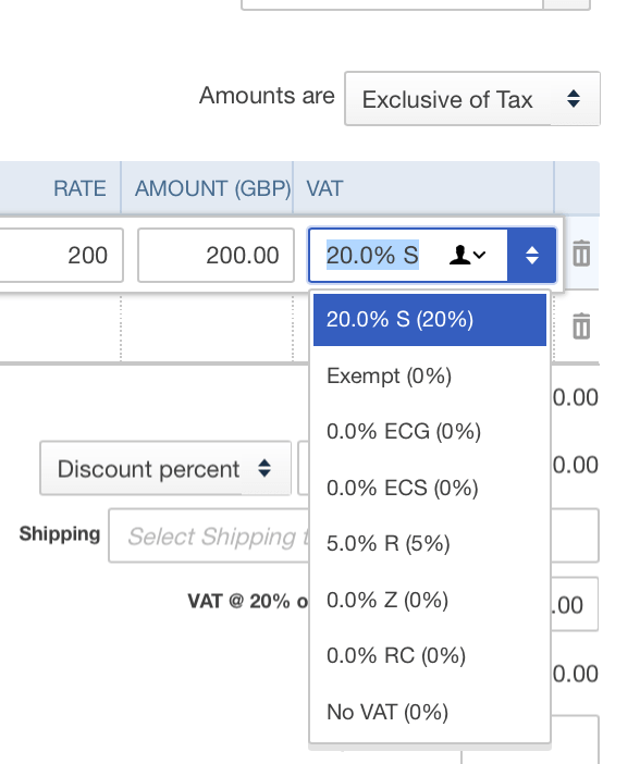 Sale or Purchase Transactions UI QuickBooks