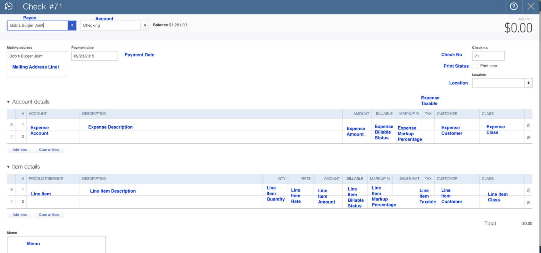 How to Import Checks into QuickBooks Online (U S)? : SaasAnt