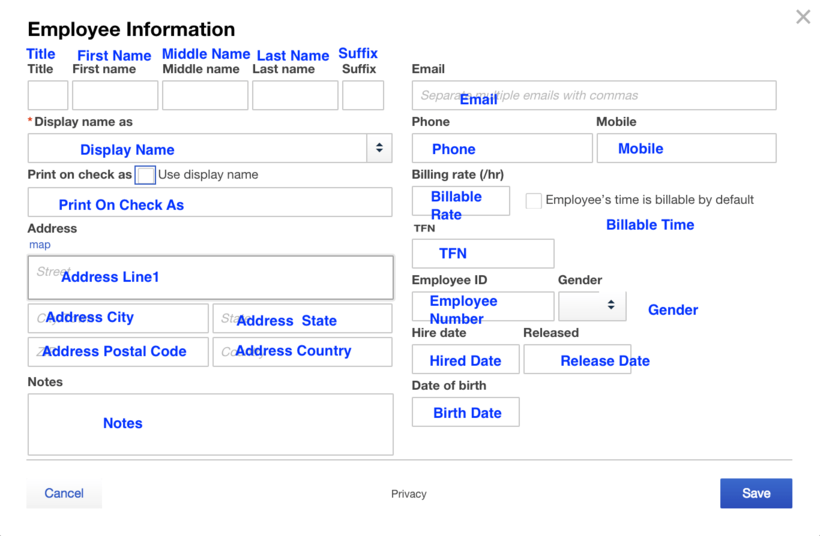 Import Employee List into QuickBooks Online
