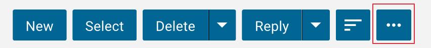 smartermail v16 menu bar