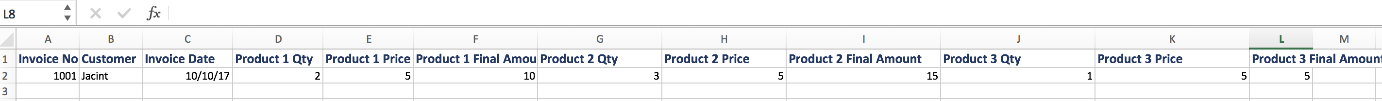 import Multiple Line transactions in quickbooks