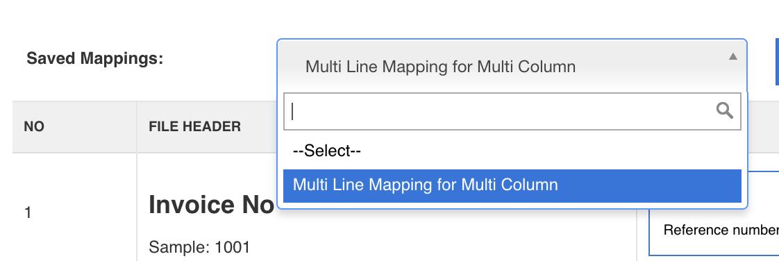multi line mapping quickbooks