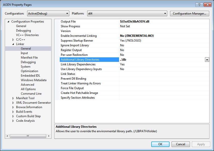 What is the development environment settings for NetSim v10