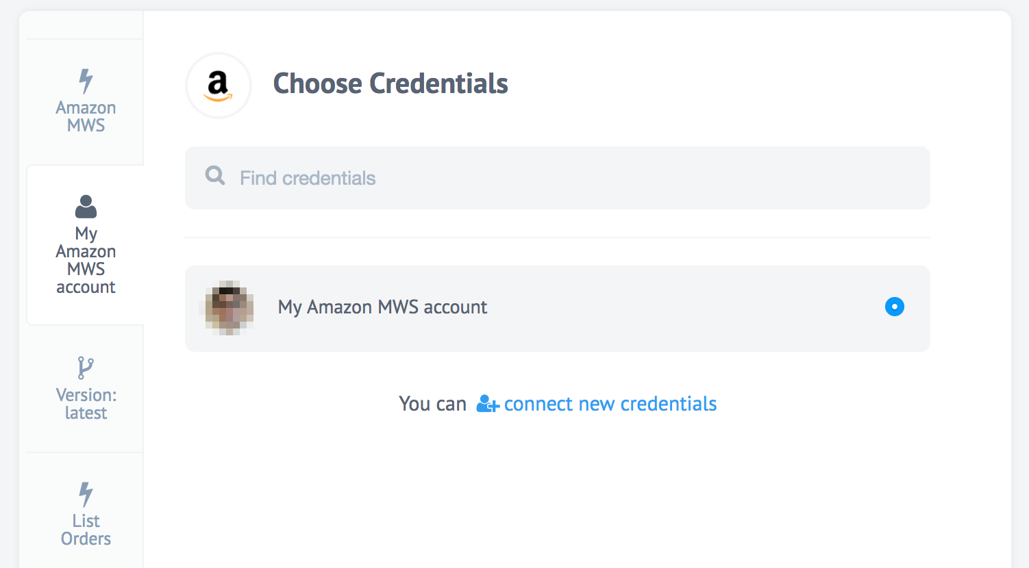 Delightful 4: To Use The Newly Added Security Credentials Just Create A Flow With  Amazon MWS As One Of The Components. Select The Newly Added Credentials In  The Setup ...