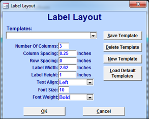 Query Label Report : Aeries Software
