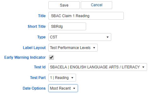 Indicator for Content Standards screenshot 2