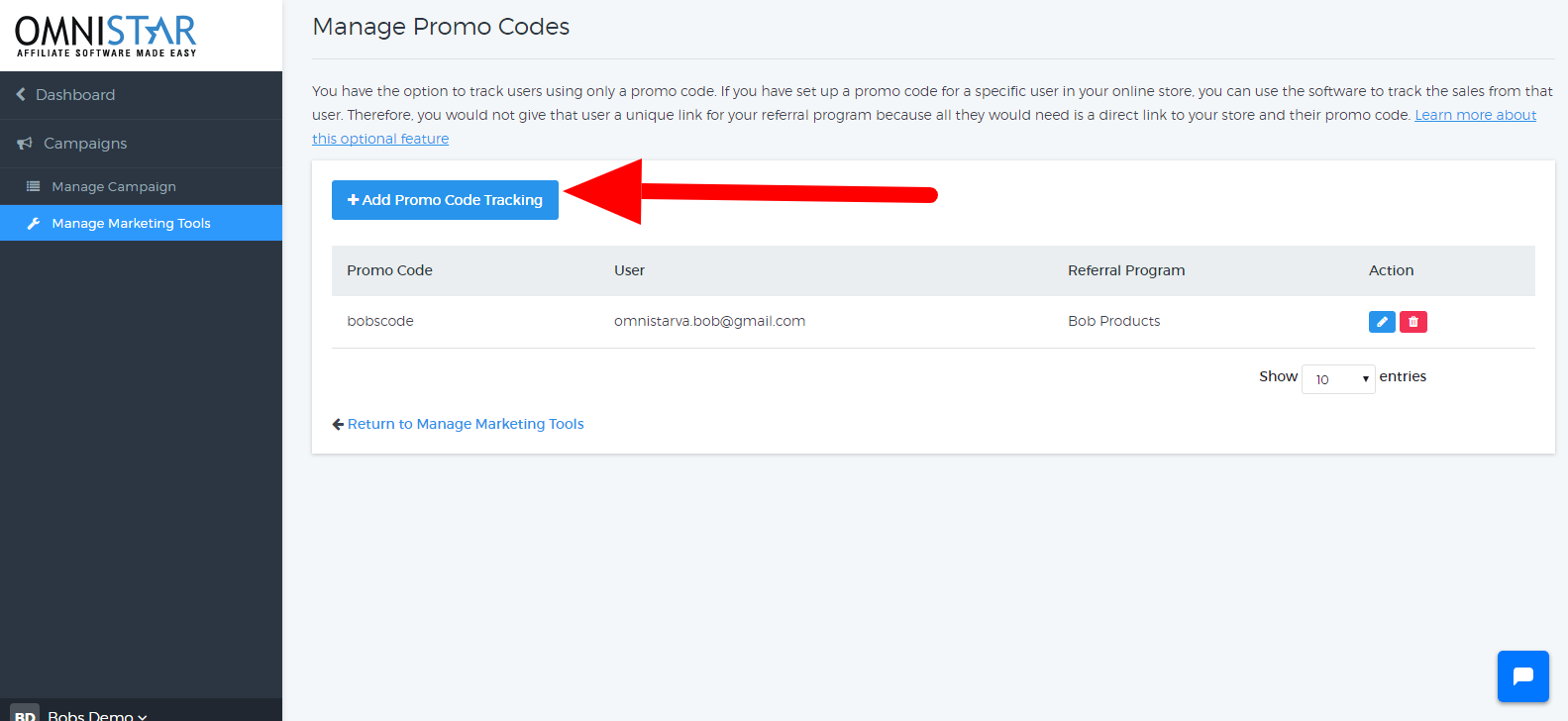 how to setup coupon code tracking with shopify osi affiliate software