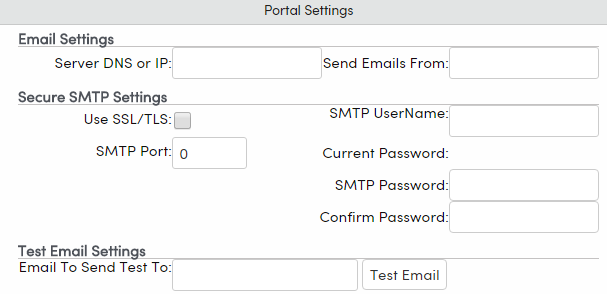 Configure SMTP (Email) Settings : Aeries Software