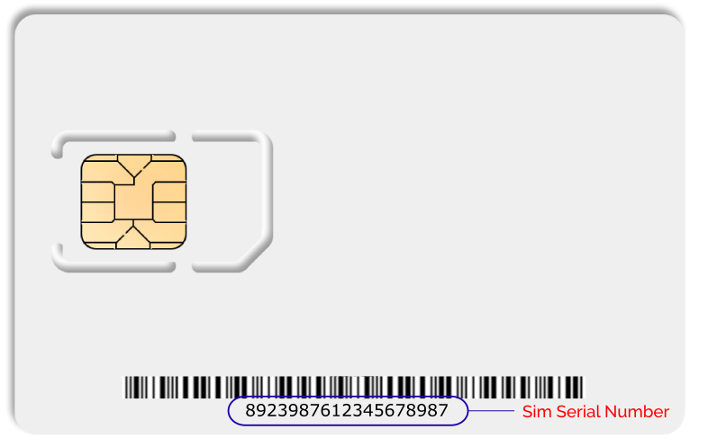 Where do I find my SIM Serial Number? : securitypoint|UK