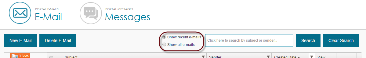 E-Mail Loading Controls