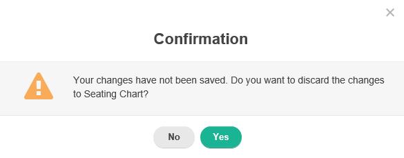 Save Seating Chart