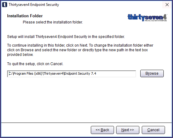 Thirtyseven4 Endpoint Security 7 4 Upgrade   thirtyseven4