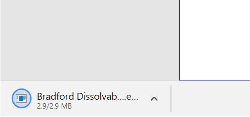 Bradford Agent downloads