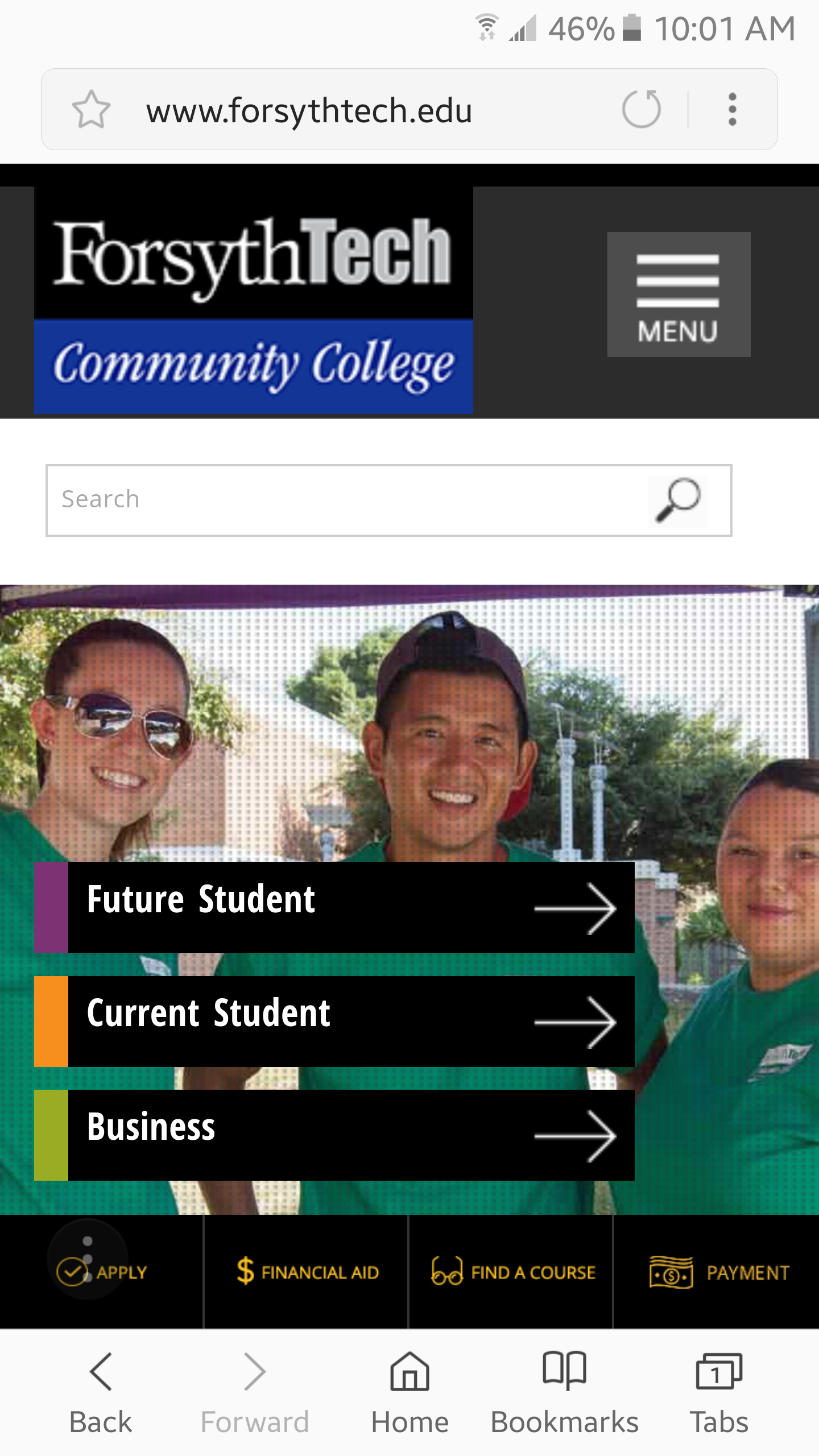 forsythtech.edu homepage