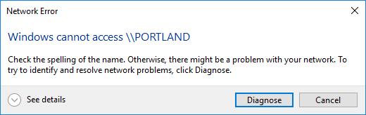 Why doesn't Windows 10 ask me for my credentials when connecting to