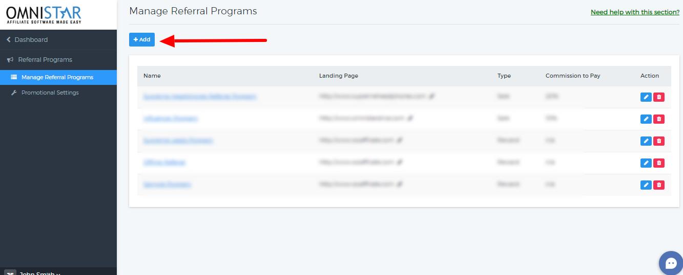 Setting up a Lead Tracking Affiliate Program : OSI Affiliate Software