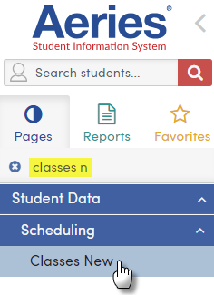 class schedule maintenance student schedule changes aeries software